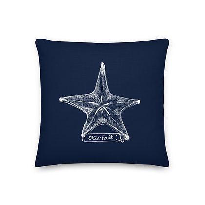 Starfruit  18x18 Throw Pillow