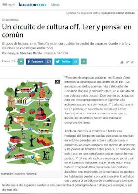 Suplemento Ideas, La Nación.