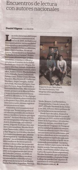 ADN, La Nación. Por Daniel Gigena, 2013.