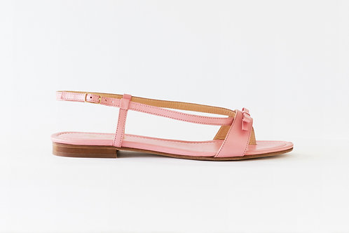 Flat Sandal with Ribbon