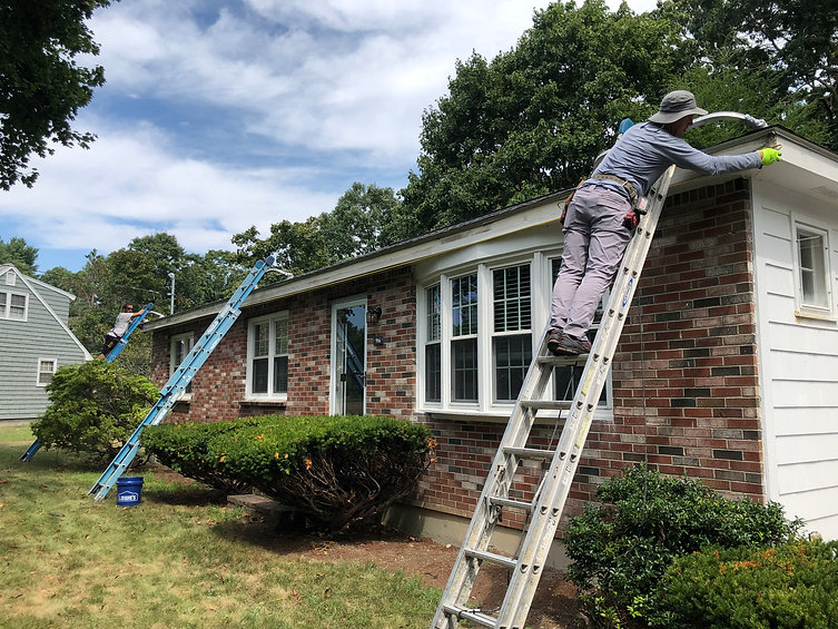 replacing wood and gutters in Norton, MA