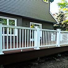 composite railing install