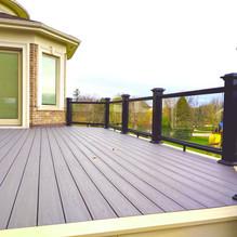 installing deck frame
