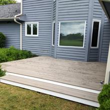 AZEK Vintage deck install