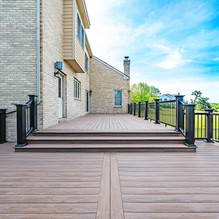 radiance timbertech railing