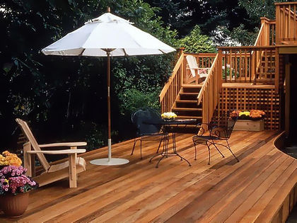 treated pine deck contractor