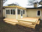 outdoor deck contractor