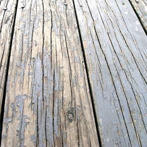 Wood Deck Rot