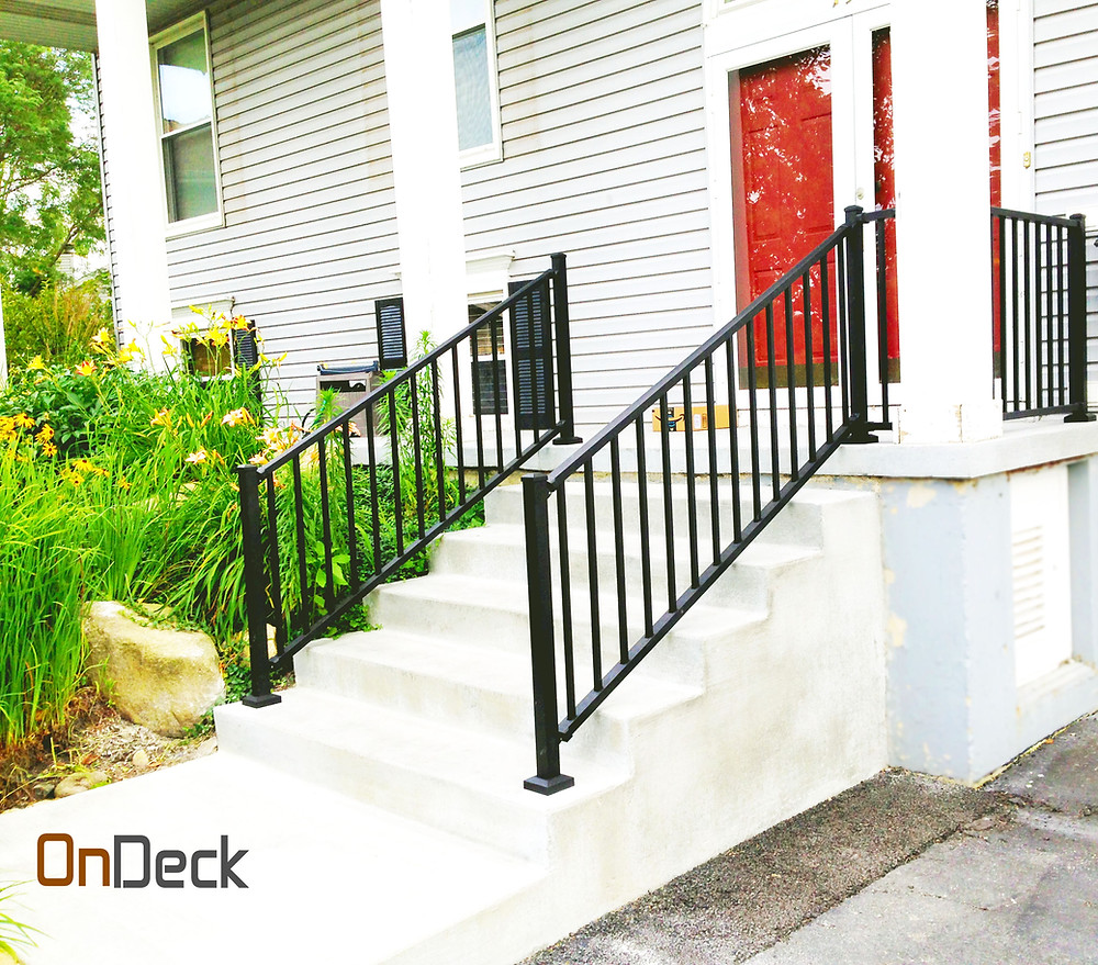 Installing Stair railing