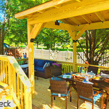 outdoor living spaces with pergola