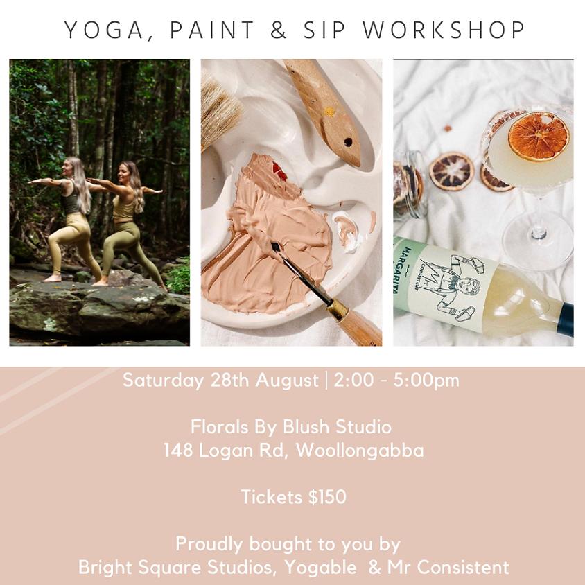 Yoga, Paint & Sip Workshop