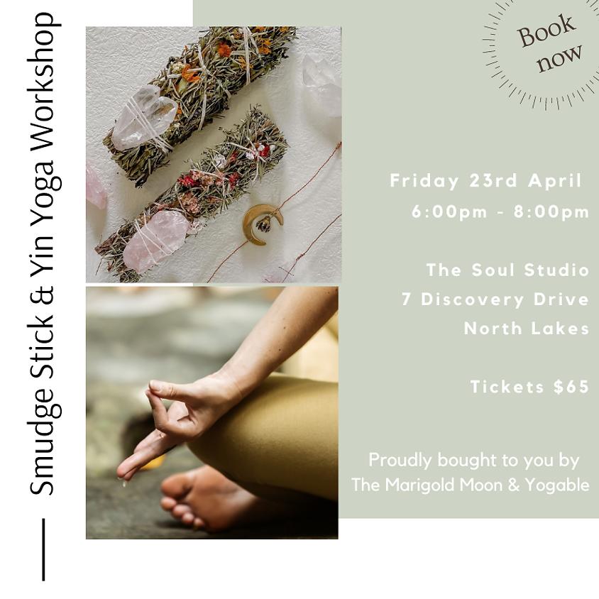 Smudge Stick & Yin Yoga Workshop