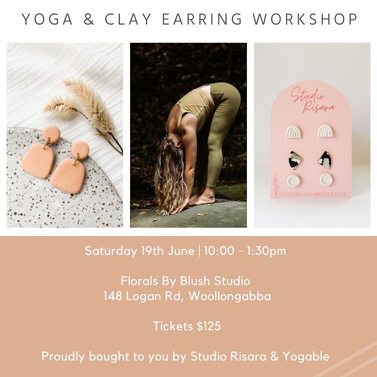 Yoga & Clay Earring Workshop