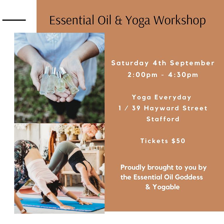 Essential Oil & Yoga Workshop