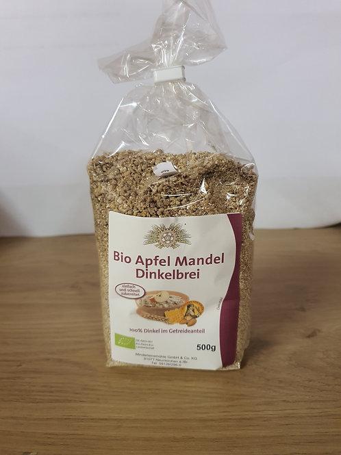 Bio Apfel Mandel Dinkelbrei 500g