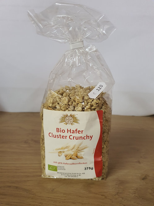 Bio Hafer Cluster Crunchy 375g