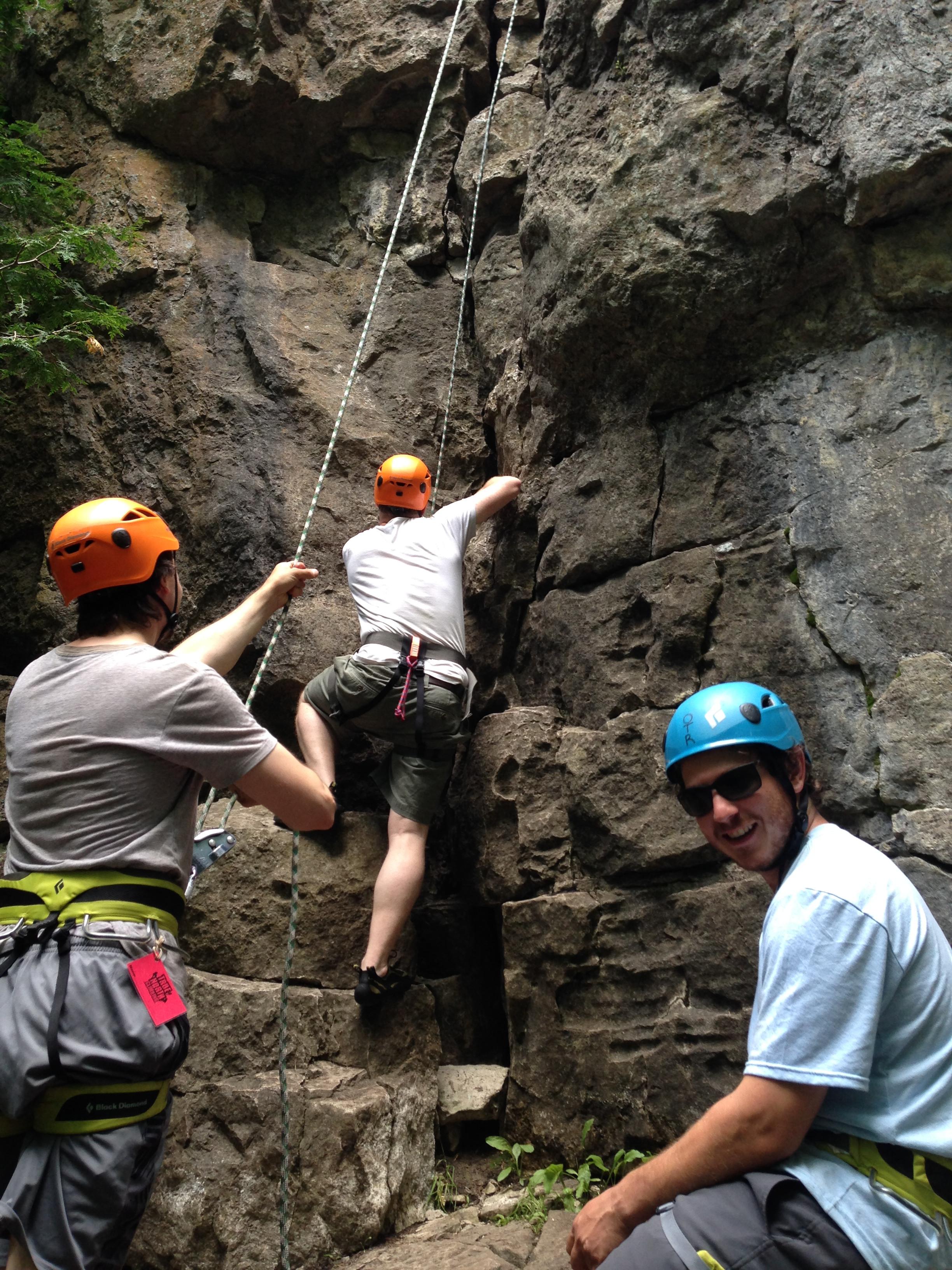 Intro to Outdoor Climbing (1-2 person)