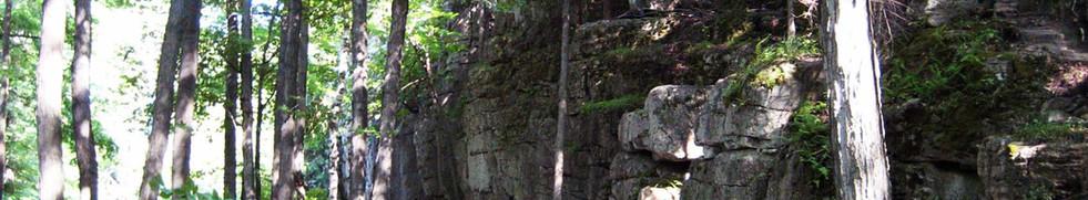 Hiking at Metcalf Rock - On The Rocks Climbing Guides - Ontario
