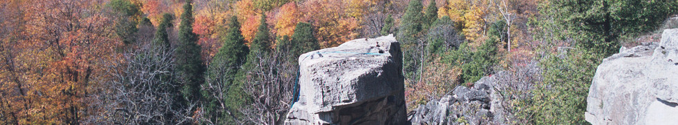 Learn to Climb - Rattlesnake Point, Ontario - On The Rocks Climbing Guides