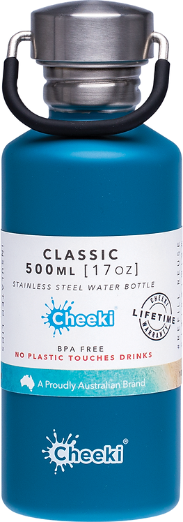 Cheeki Single Wall bottle - Topaz - 500ml
