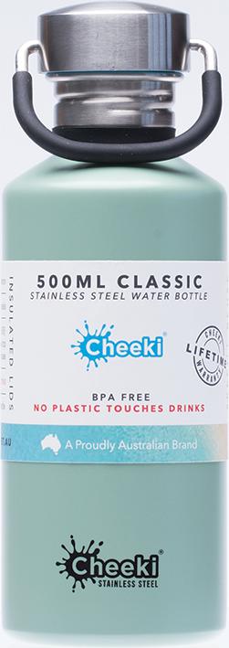 Cheeki Single Wall bottle - Pistachio - 500ml