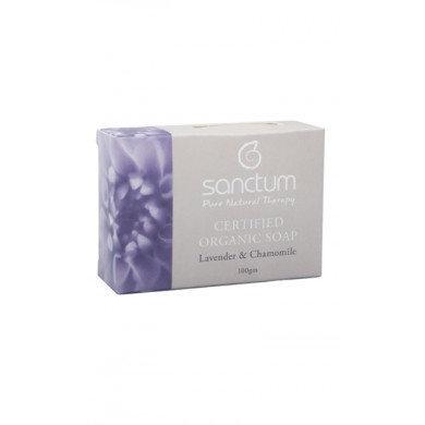 Sanctum Organic Soap Lavender & Chamomile 100gm