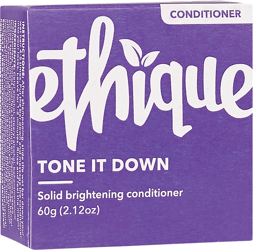 Ethique Solid Conditioner Bar - Tone it Down 60gm