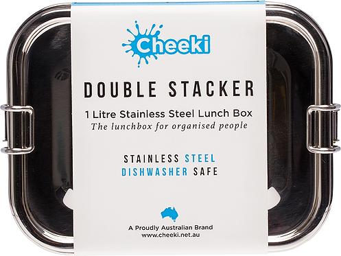 Cheeki Lunch Box Double Stacker 1L