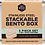 Thumbnail: Ever Eco Stainless Steel Stackable Bento Box  2 tier + Mini Container 1200ml