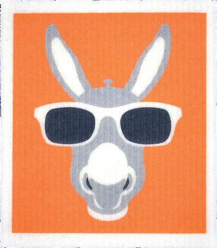 RetroKitchen Dishcloth Donkey