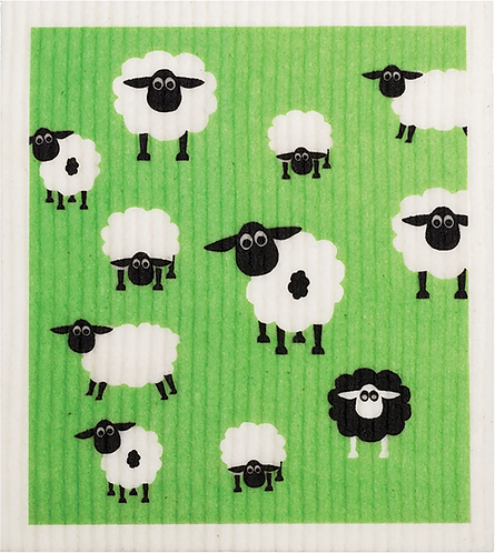 RetroKitchen Dishcloth Sheep