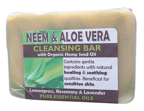 Harmony Soapworks Soap Cleansing Bar Neem & Aloe Vera 140g