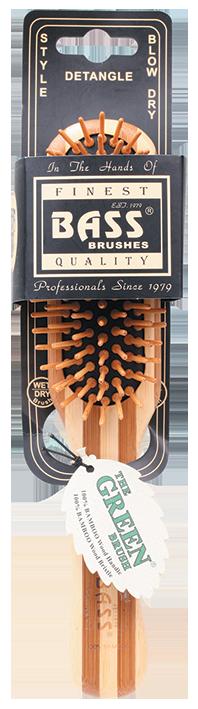 BASS Brushes Bamboo Wood Hair brush Professional Style