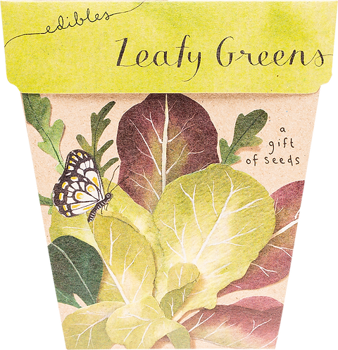 Sow n' Sow Gift of Seeds - Leafy Greens