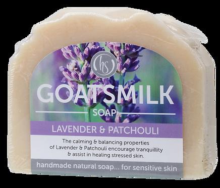 Harmony Soapworks Goat's Milk Soap Lavender & Patchouli 140g