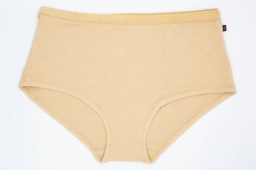 Etiko Underwear - Women's full brief latte