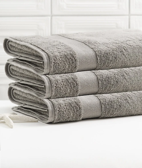 Bhumi Bath Towel in Grey