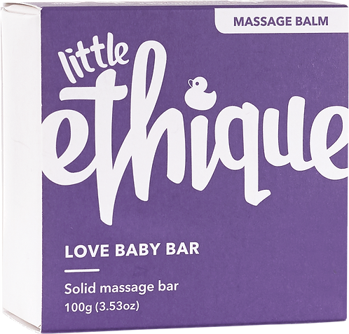 Ethique Baby Solid Massage Bar - Love Baby 100gm