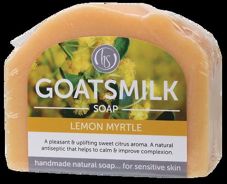 Harmony Soapworks Goat's Milk Soap Lemon Myrtle 140g