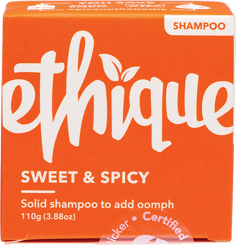 Ethique Solid Shampoo Bar - Sweet & Spicy 110gm