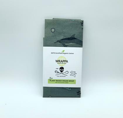 Sea Shepherd X WRAPPA reusable food wraps - 1 x Jumbo