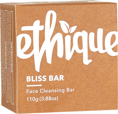Ethique Solid Face Cleanser Bar - Bliss Bar 110gm