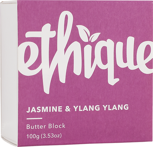 Ethique Body Butter Block - Jasmine& Ylang Ylang 100gm