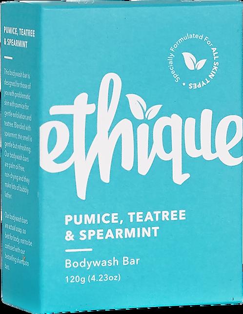 Ethique Solid Bodywash Bar - Pumice, Tea Tree & Spearmint 120gm