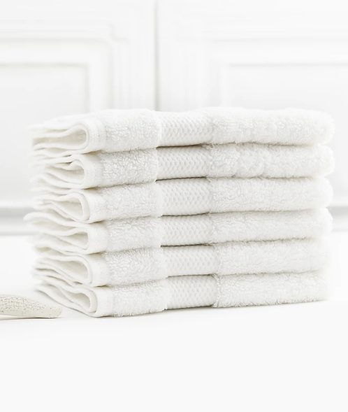 Bhumi Wash Cloths in White