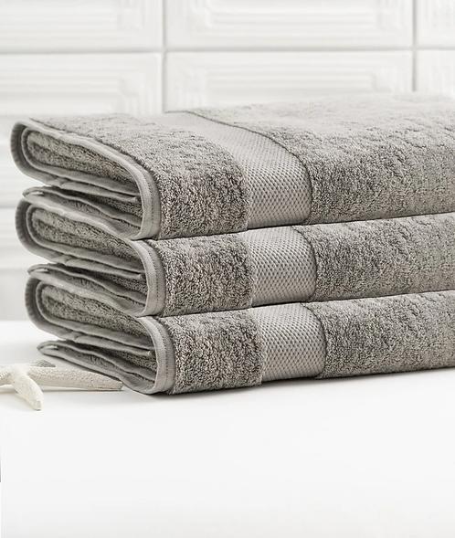 Bhumi Bath Sheet in Grey
