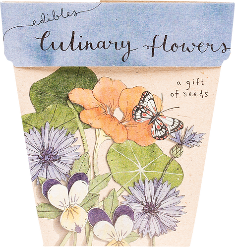 Sow n' Sow Gift of Seeds - Culinary Flowers