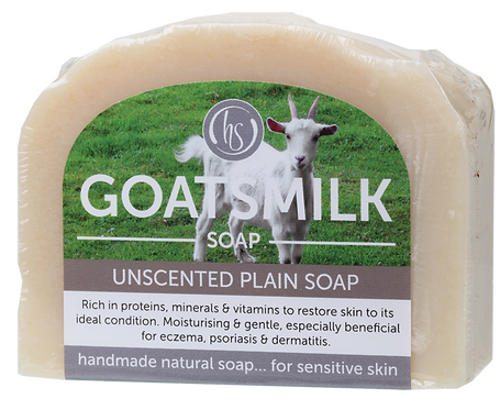 Harmony Soapworks Goat's Milk Soap Unscented Plain 140g