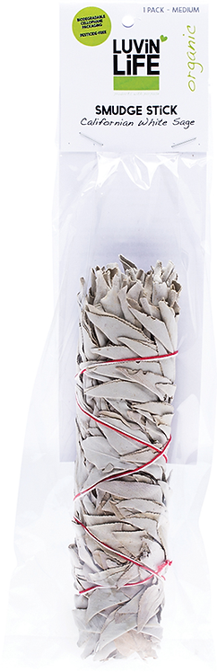 Luvin Life Smudge Stick White Sage - Medium