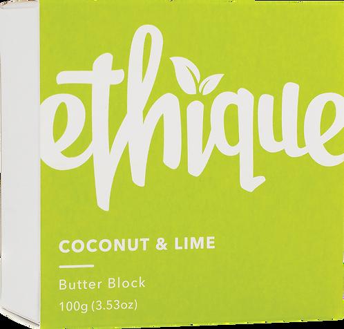Ethique Body Butter Block - Coconut & Lime 100gm
